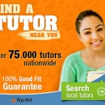 WyzAnt Tutoring: Take $20 Off!