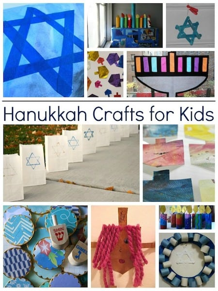 Kids hanukkah crafts round up jinxy kids for Menorah arts and crafts