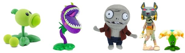 Plants vs Zombies Toys Jazwares