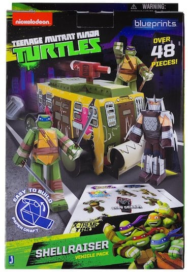 Teenage Mutant Ninja Turtles Papercraft Review