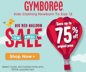 Gymboree Big Red Balloon Salea