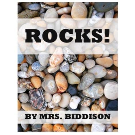 Rocks Sight Word Book