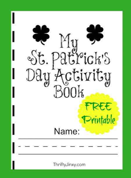 FREE Printable St. Patrick's Day Activity Book