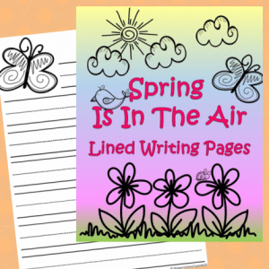 FREE Printable Spring Writing Pages