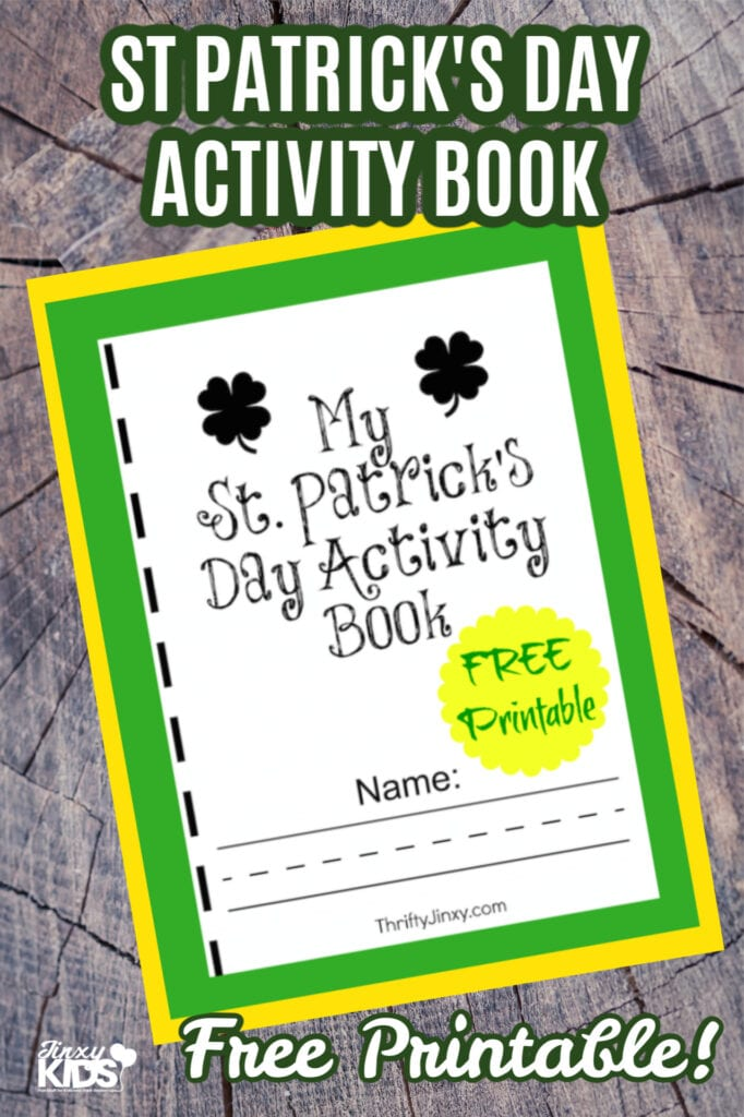 Free Printable St Patricks Day Activity Book