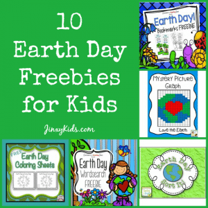 10 Earth Day Freebies for Kids: Word Search, Coloring Pages, Bookmarks and More!