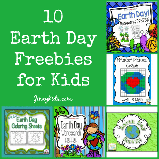 10 Earth Day Freebies For Kids Word
