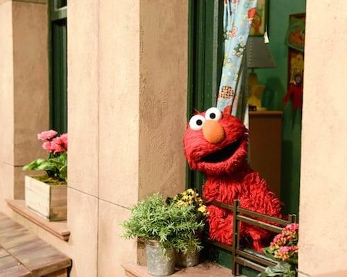 Elmo's Bedroom