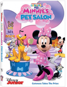 Mickey Mouse Clubhouse: Minnie's Pet Salon Reader Giveaway + Printable Activity Sheets
