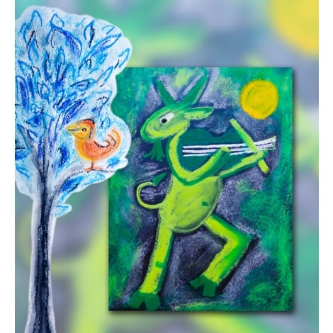 Marc Chagall Art Activities for Kids