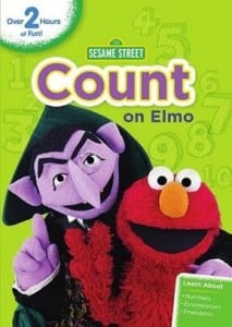 Sesame Street: Count on Elmo DVD Reader Giveaway!