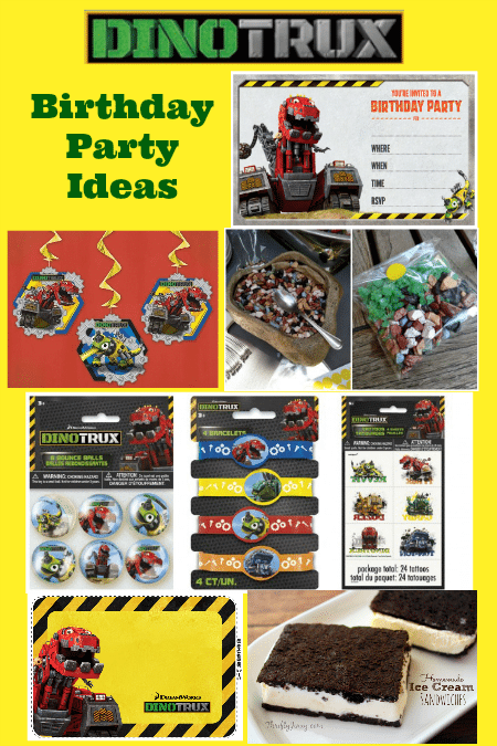 Dinotrux Birthday Party Ideas