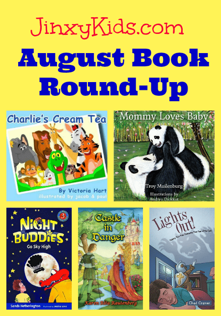 Jinxy Kids August Book Roundup