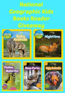 National Geographic Kids Books Reader Giveaway – Back 2 School Hop