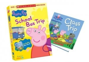 Peppa Pig: School Bus Trip DVD and Mini Book Set + Reader Giveaway
