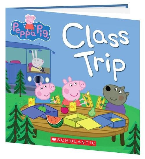 Peppa Pig Class Trip Book