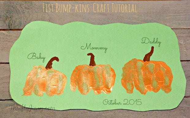 Fist BumpKins Pumpkin Craft