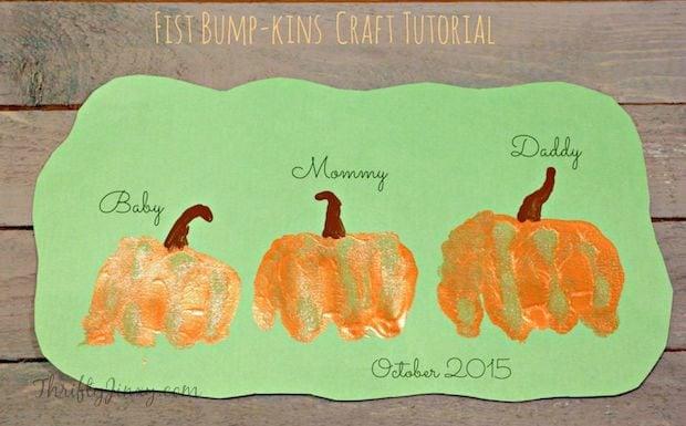 Fist BumpKins Pumpkin Craft