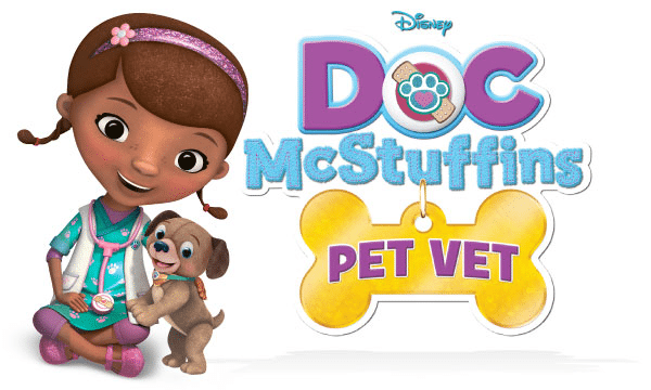 Doc McStuffins Pet Vet Printable Activity Sheets DVD