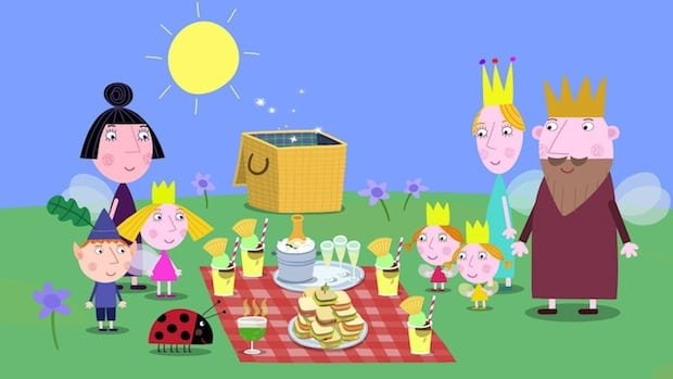 Ben and Holly's Little Kingdom Royal Family Picnic