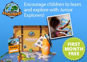 FREE Junior Explorers Adventure Kit