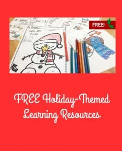 FREE Holiday-Themed Learning Resources