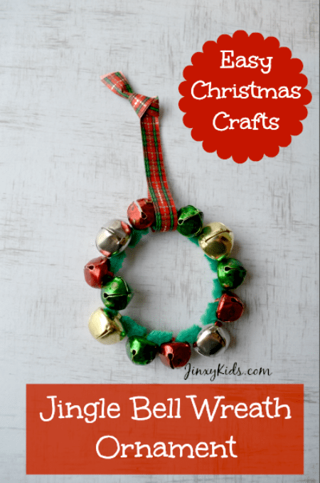 This Jingle Bell Wreath Ornament is an easy craft that even kids can do. You can also use your creativity by using an assortment of jingle bell colors and making up your own patterns and designs. The fun thing about these ornaments is that they not only look cute, but they also make a pretty jingling sound!