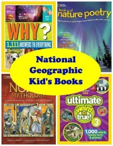 Give the Gift of National Geographic Kid's Books this Christmas + Reader Giveaway