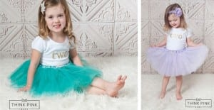 All That Shimmers Tulle Skirt – Think Pink – Only $6.95