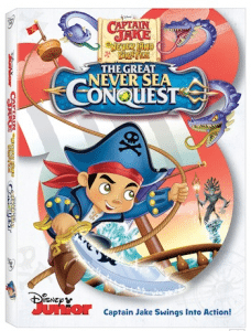 Captain Jake and the Never Land Pirates: The Great Never Sea Conquest DVD Giveaway