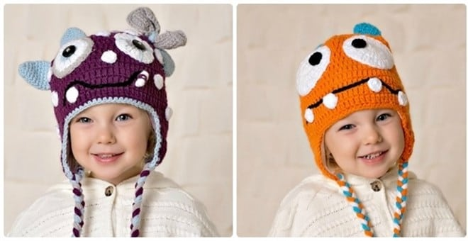 Monster Hat for Kids