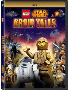 LEGO STAR WARS: Droid Tails on DVD TODAY!