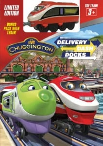 Chuggington Delivery Dash at the Docks Color Pages + Reader Giveaway
