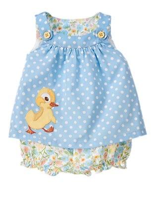 Gymboree Fuzzy Duckling