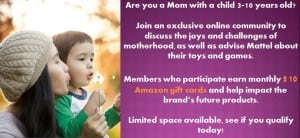 Hey Moms! Join the Mattel Online Community