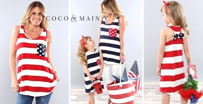 Coco and Main Mommy and Me Patriotic Outfits