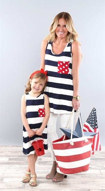 Coco and Main Mommy and Me Patriotic Outfits - So Cute!
