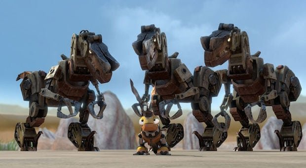 New DINOTRUX Characters for Season Desert Scraptors