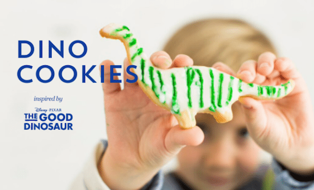 Dinosaur Cookies Recipe