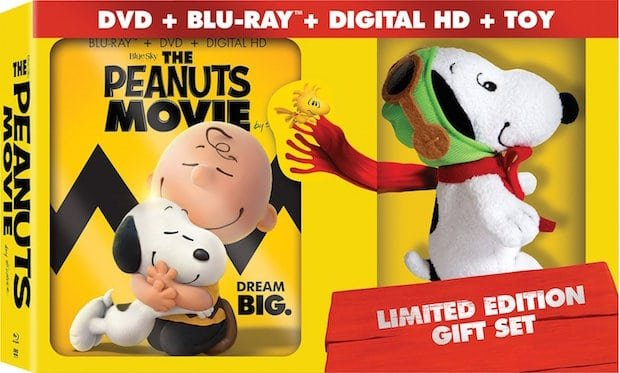 Peanuts Blu-ray Limited Edition Gift Set