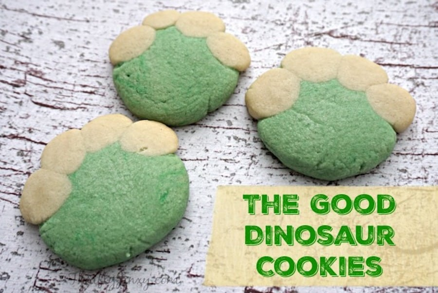 The Good Dinosaur Cookies Recipe