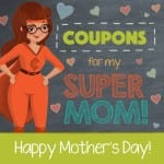 Free Printable Mother's Day Coupons from Kids
