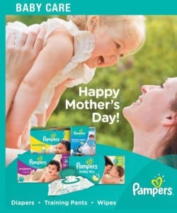 Pick Up a Paper on Sunday & Save on Pampers Diapers!