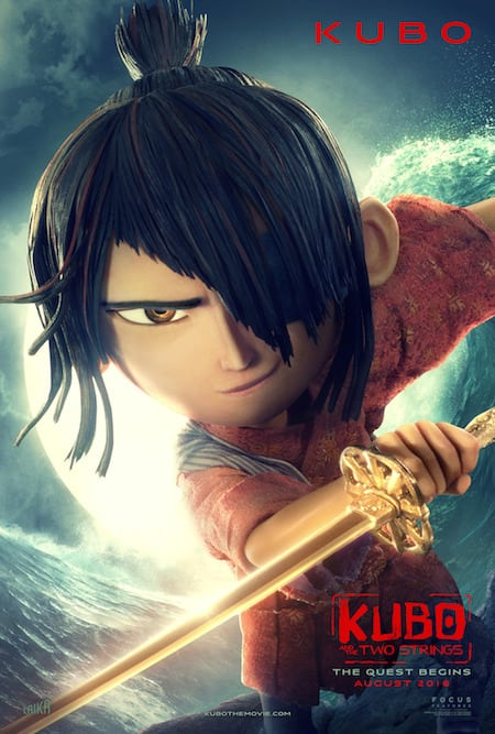 Kubo and the Two Strings Character Poster