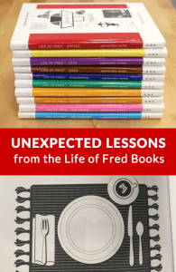 Learn Unexpected Lessons with the Life of Fred Books