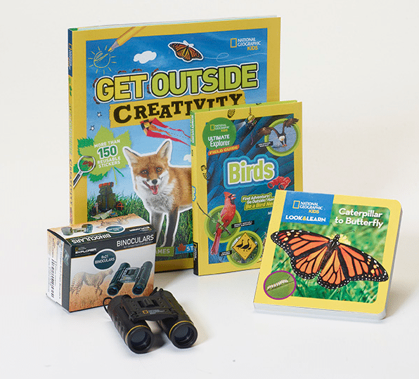 Explore the Outdoors National Geographic Children's Books Giveaway