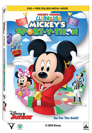 MICKEY MOUSE CLUBHOUSE- Mickey's Sport-Y-Thon