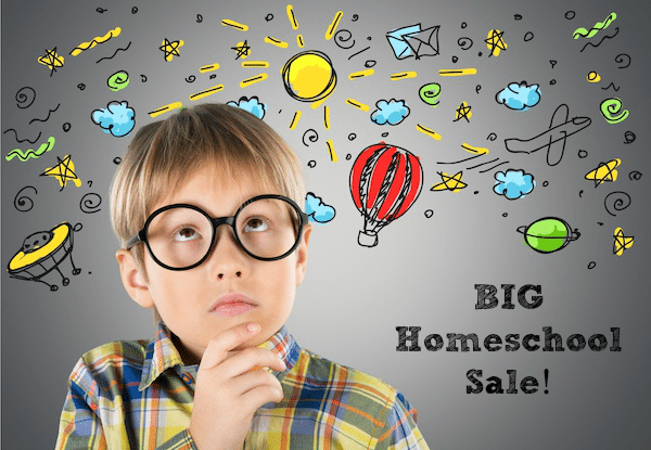 Big Homeschool Sale