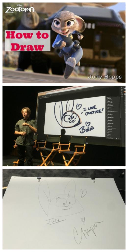 How to Draw Judy Hopps