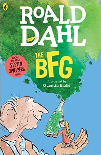 The BFG Book Roald Dahl